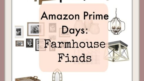 Farmhouse, amazon prime deal, amazon decor, farmhouse decor, moder farmhouse decor, budget savvy decor