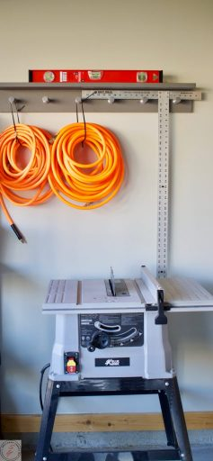 scrap Wood Storage Solutions & Organization ORC, One room challenege, storage, garage, shelving, garage organization, garage