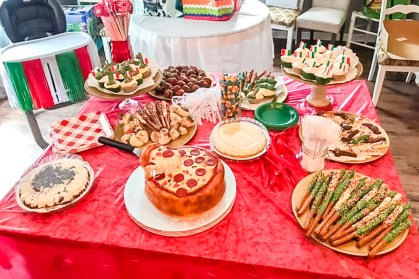 pizza party, pizza theme, pizza theme birthday, 1st birthday party, pizza them, party, kids party, themed party, Italian themed party, Italian pizza party