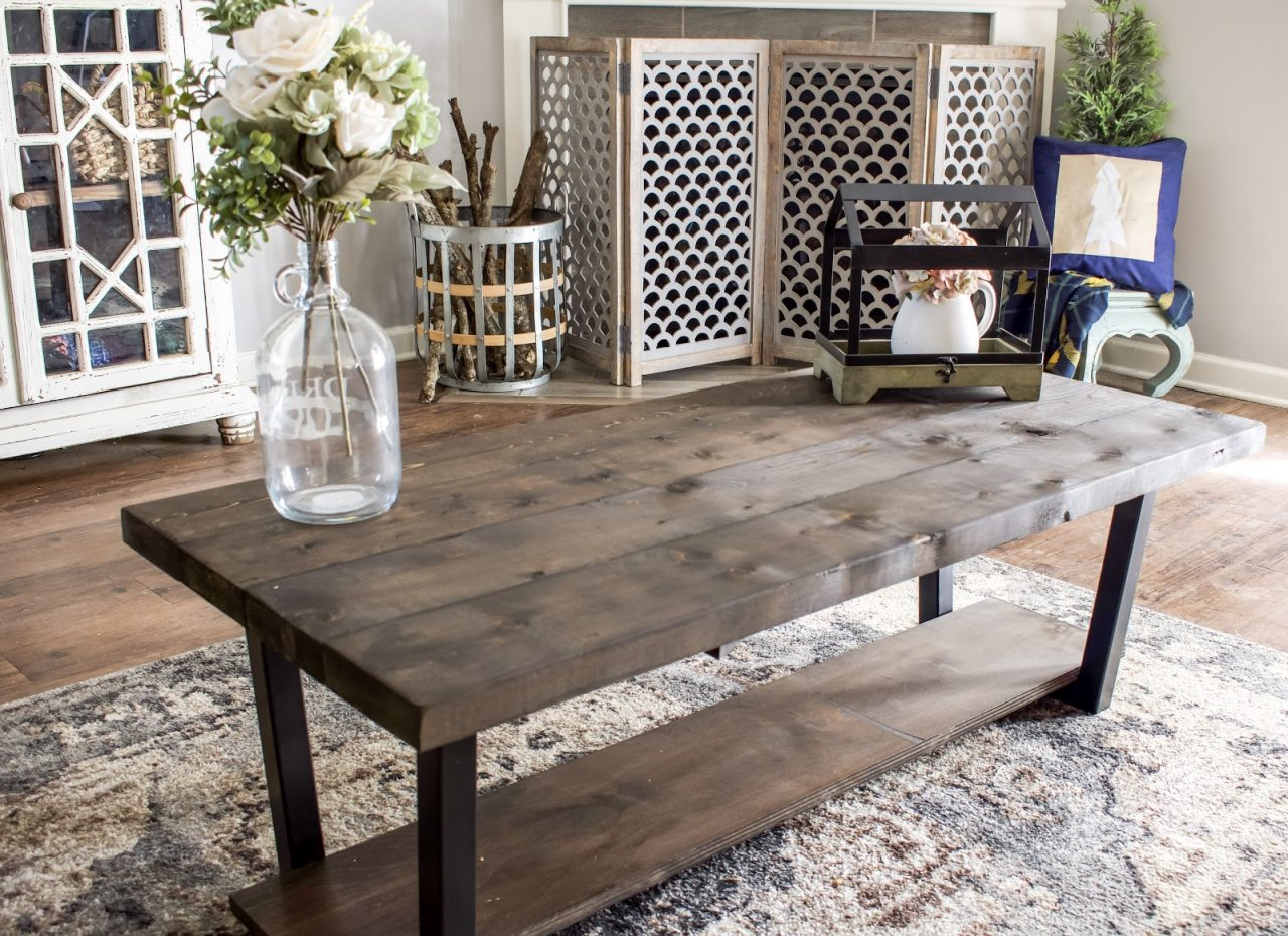 DIY Easy coffee table