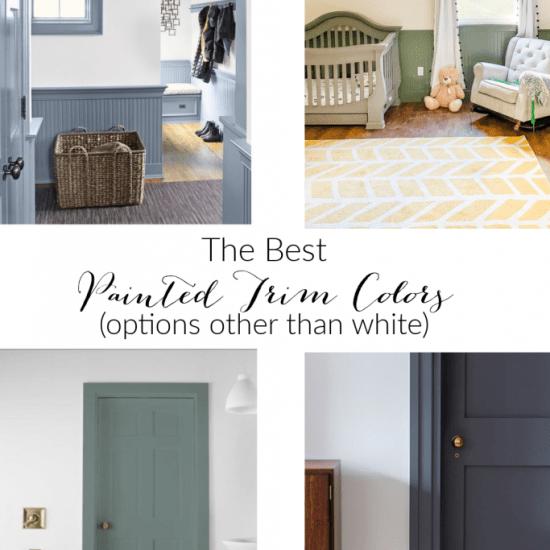 Top Designer Chosen Trim Colors That Aren't White