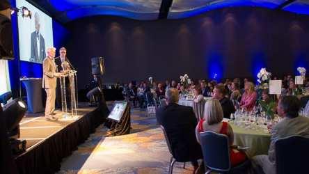 Steve Nygren addresses the audience