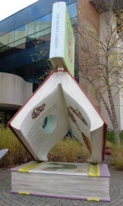 Imaginarium Garden Books at the Southfield Public Library - Side View