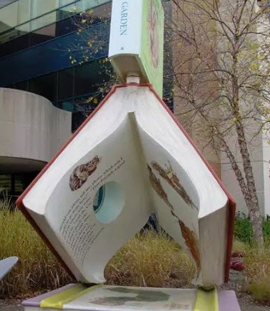 Imaginarium Garden Books at the Southfield Public Library - Side View
