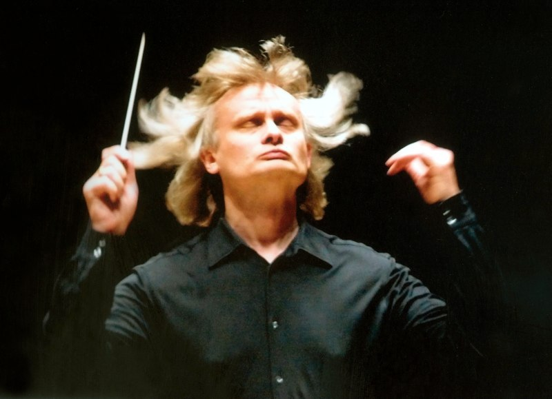 Grzegorz Nowak conducted the Miami Summer Music Festival Orchestra Friday night at Barry University in Miami Shores.