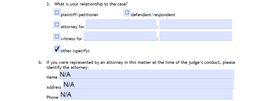 How To File A Complaint About A Florida Judge With The JQC Part 4B