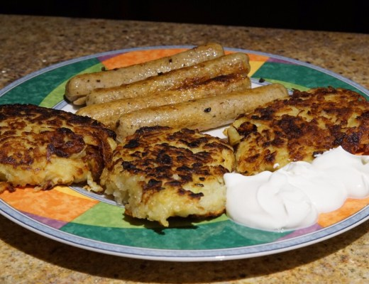 Latke recipe for Chanukah
