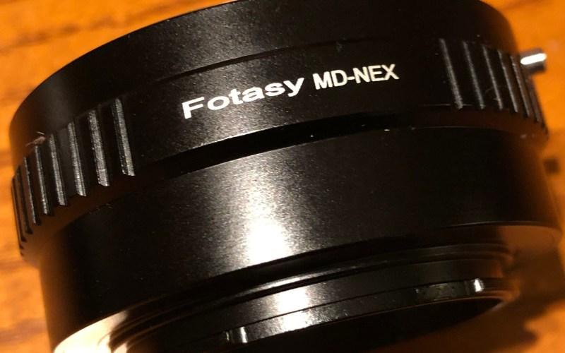 Fotasy MD-NEX Vintage lens adapter