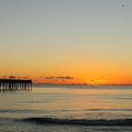 Sunrise Dania Beach Pier
