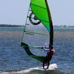 Wind Surfing in Key Biscayne