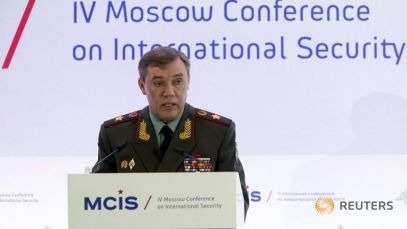 Russian Chief Of General Staff: Military Phase Of Syrian Conflict Is Over. 3,000 Civilians Killed By US-led Coalition