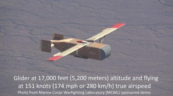 Dodávka preglejky Drone pre americké mariňáky prechádza letové testy