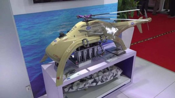 """Vo videu: Čína vyrábala vrtuľník UAV vyzbrojený maltovými nábojmi s cieľom """"Counter-Terrorism"""""""