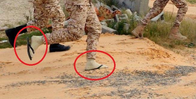 Foto: taktické bazén topánky - tajná zbraň Pro-GNA síl v bitke o Tripolis