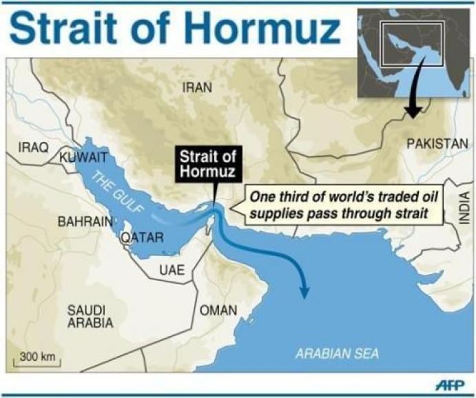 Irán hrozí zavrieť úžinu Hormuz Ak USA blokuje jeho vývoz ropy