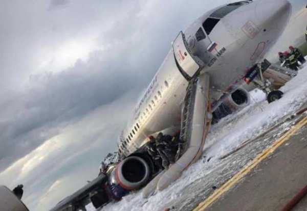 5. máj Tragédia so Superjet-100 v Moskve (Možné dôvody, dôsledky správania cestujúcich)