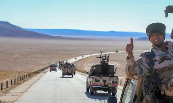 LNA je masové sily východne od Tripolisu, plánovanie na Storm Sirte - správa