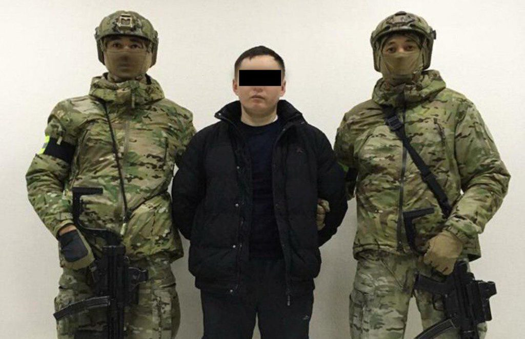 In Photos: Kazakh Security Forces Detained ISIS Supporter Preparing Terrorist Attack In Nur-Sultan