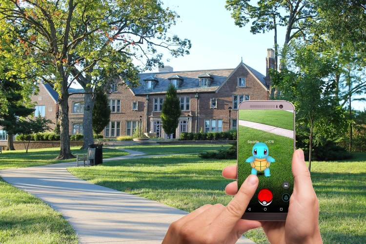 Augmented Reality PokemonGo
