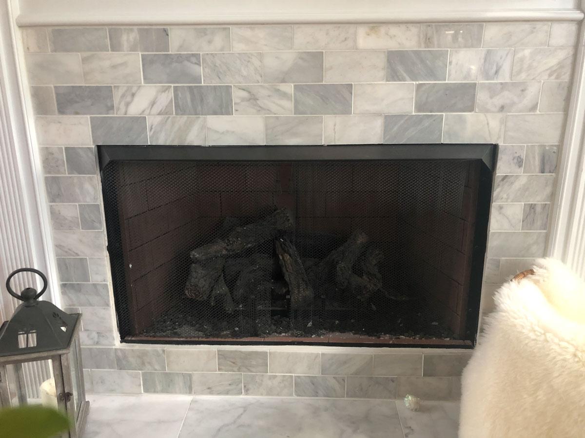how to tile a fireplace south georgia