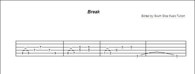 Learn how to play guitar: Sweet Home Alabama Lynyrd Skynyrd South Glos Music Tuition