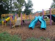 slides and climbing fun