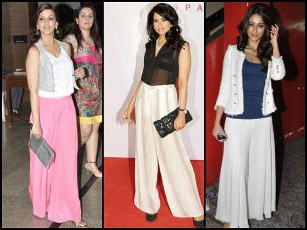 10 Best Ways To Wear Palazzos –South India Fashion