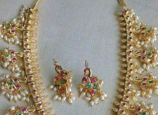 Latest One Gram Gold Jewellery Designs