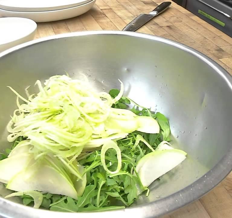 Kohlrabi Salad | Knol Khol Salad