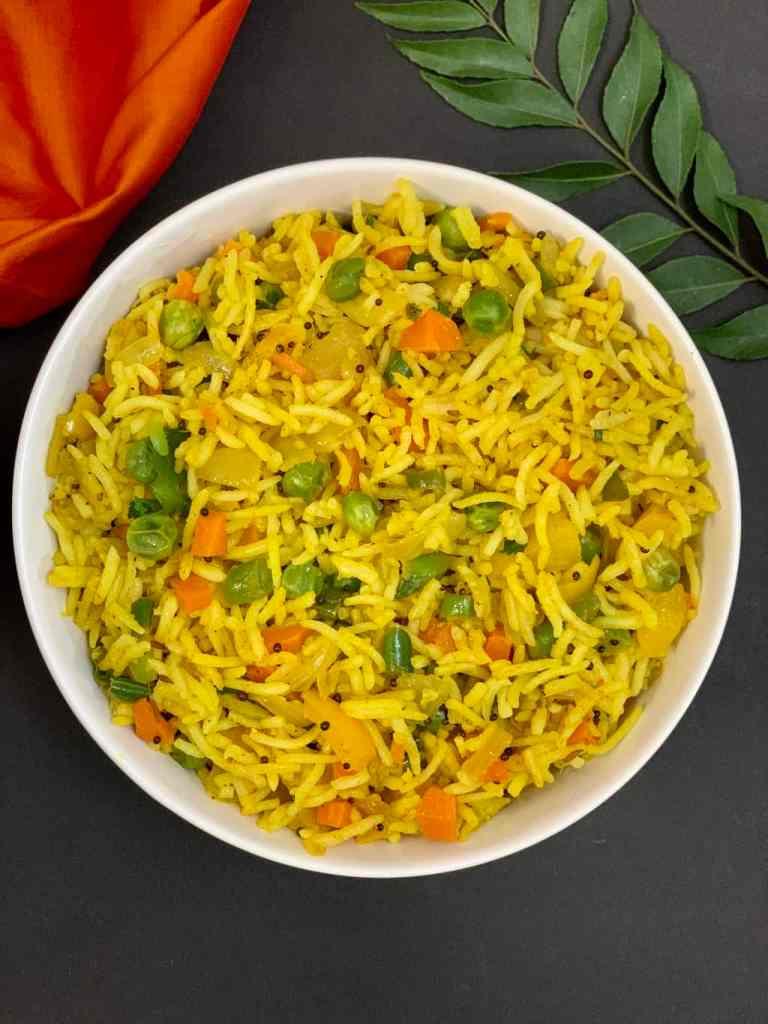 Mix Vegetable Rice Recipe