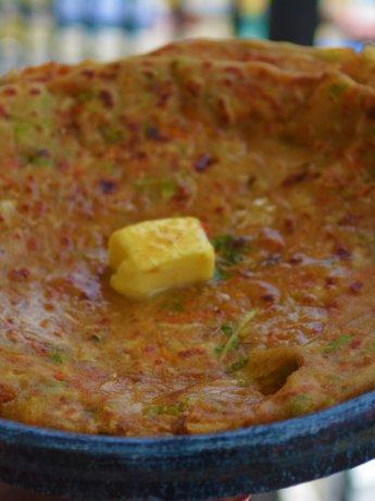 Stuffed Vegetable Paratha Recipe