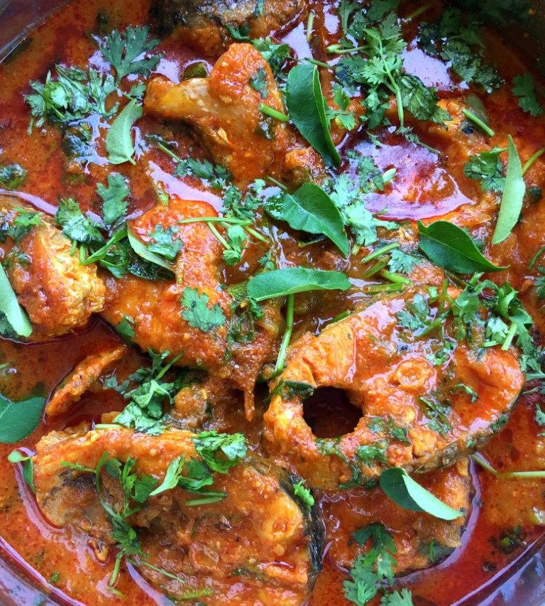 Andhra Fish Curry Recipe