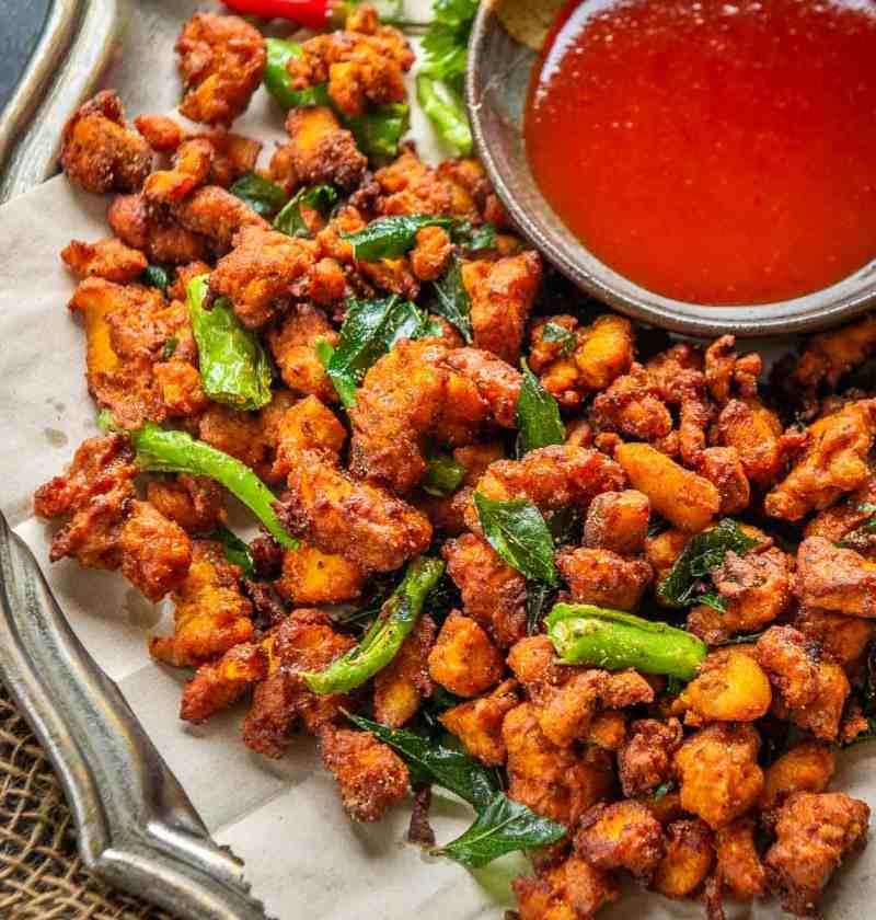 Chicken Pakora Masala Recipe