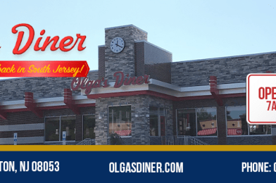 The New Olga's Diner in Marlton is Open & Features Vegan Menu