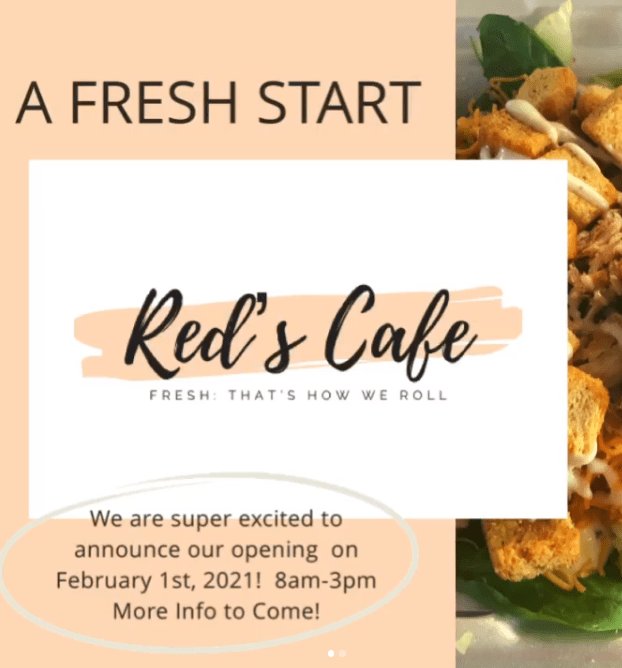 Red's Cafe Marlton NJ