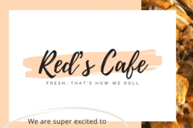 Red's Cafe to Open in Marlton