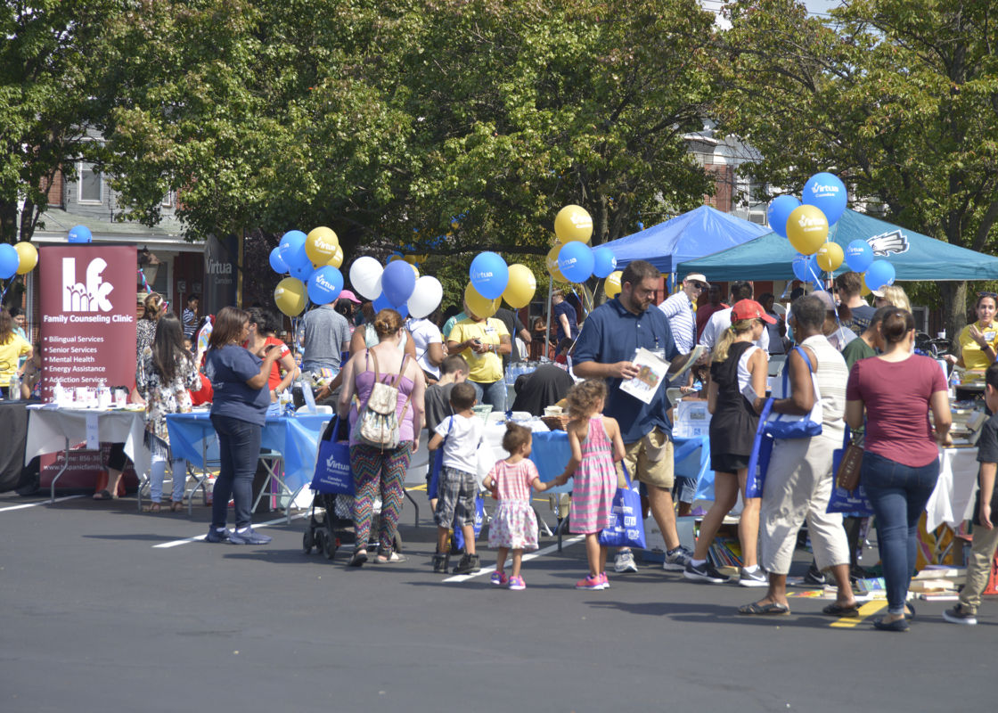 Virtua Camden Community Day Helps Residents Be Well & Have Fun