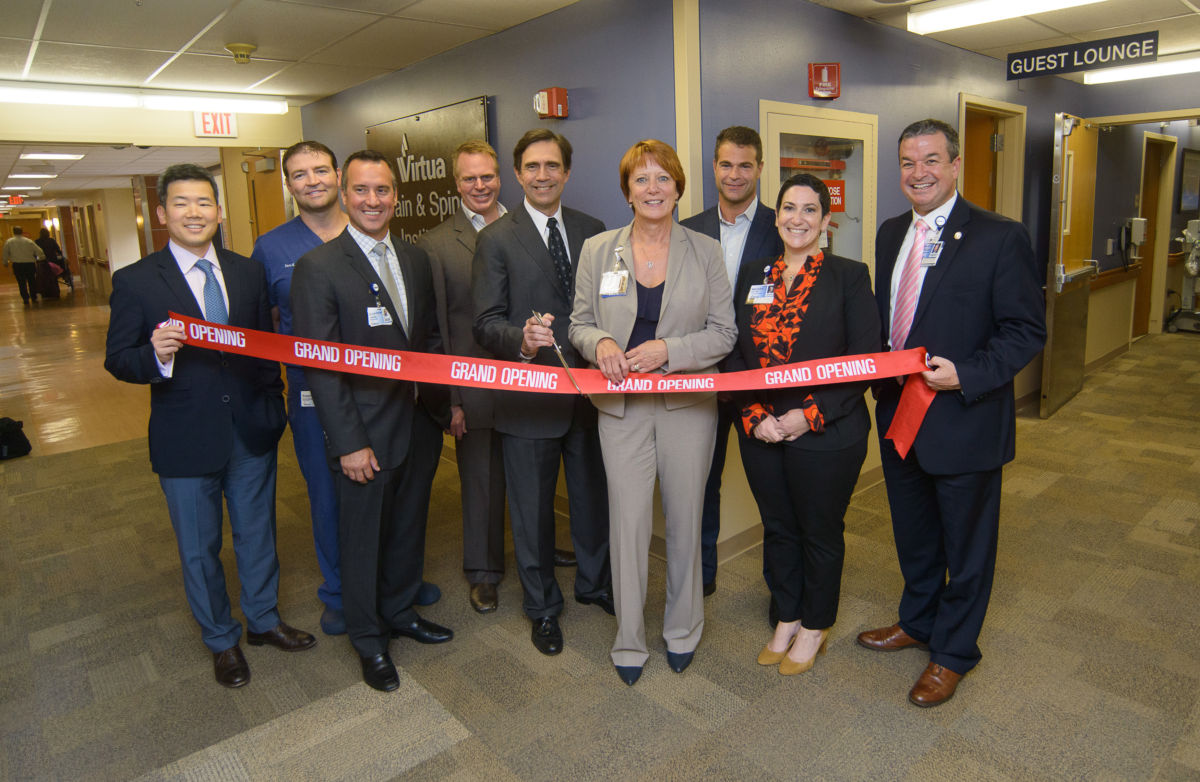 Surgeons Cut Ribbon at Virtua Brain and Spine Institute