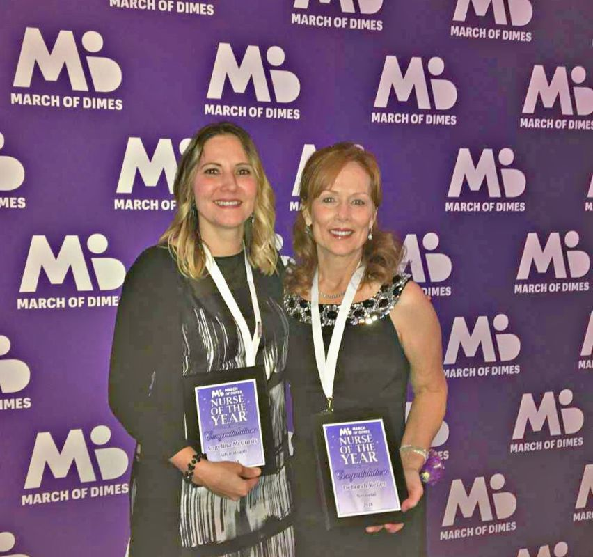 Two Jefferson Health – NJ Nurses Receive March of Dimes 'Nurse of the Year' Awards
