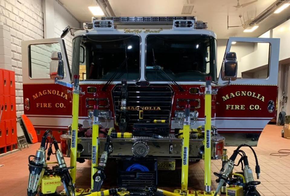 Magnolia Ambulance & Fire Co  Among New Jersey American