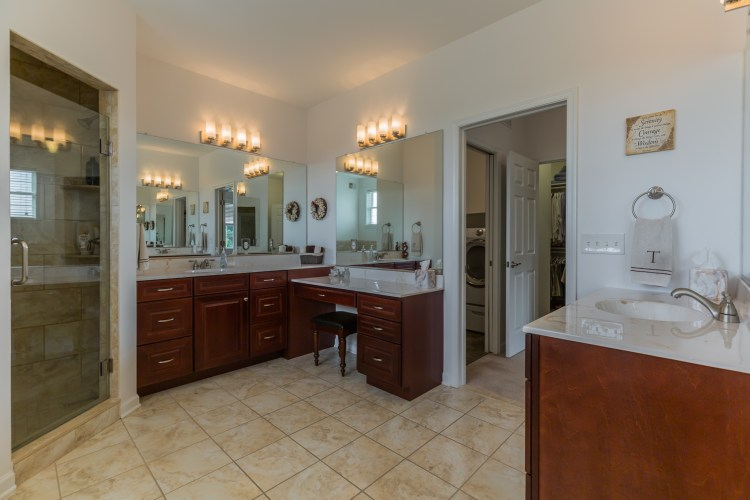 The Master Bathroom Vanities