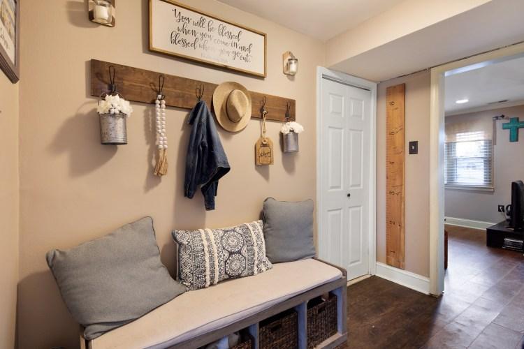 Hallway that leads to bonus room