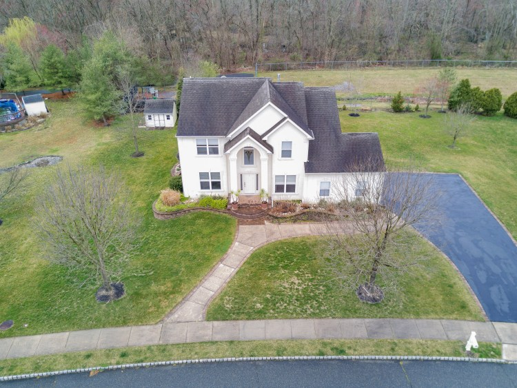 Aerial View of 25 Turtle Creek Drive