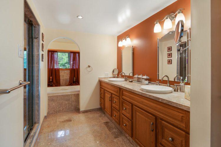 Master Bathroom 15 Springhill Road Mantua