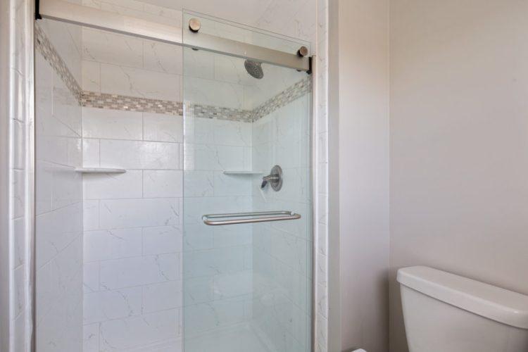 Custom shower stall