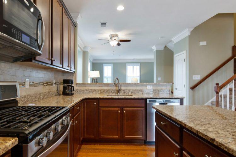 Kitchen at 460 N Palace DRive