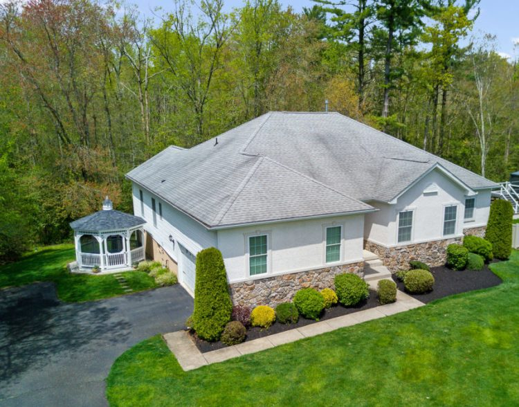 Aerial View of 130 Millstone Way Monroeville