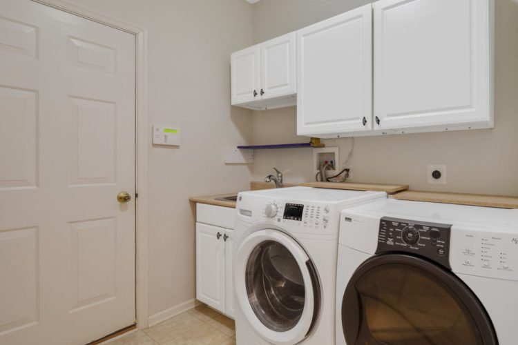Laundry room at 130 Millstone Way