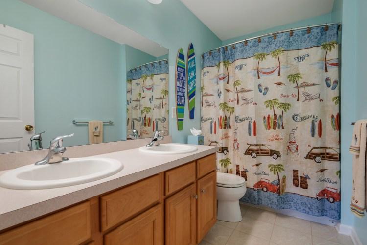 Hall Bathroom of 21 Honeysuckle Drive Sewell