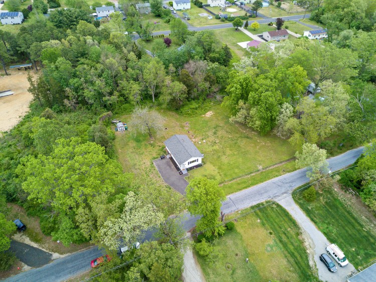Aerial view of 60 Steinfled Avenue Elmer